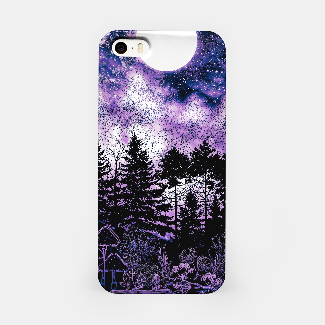 Image of PURPLE FOREST iPhone Case - Live Heroes