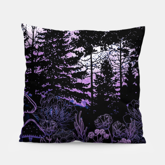 Miniatur PURPLE FOREST Pillow, Live Heroes