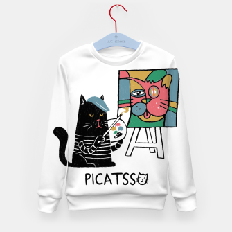 Thumbnail image of Picatsso Kid's sweater, Live Heroes