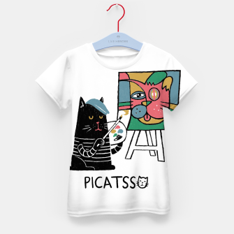 Thumbnail image of Picatsso Kid's t-shirt, Live Heroes