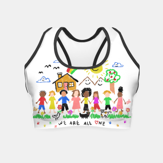 Thumbnail image of We are all One Crop Top, Live Heroes
