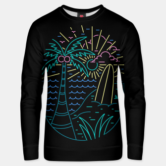 Thumbnail image of Beach Neon Unisex sweater, Live Heroes