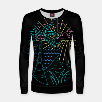 Thumbnail image of Beach Neon Women sweater, Live Heroes