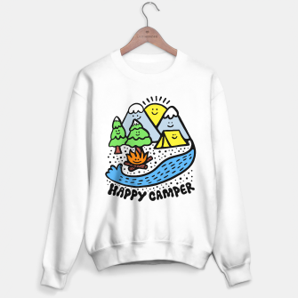 Thumbnail image of Happy Camper Sweater regular, Live Heroes