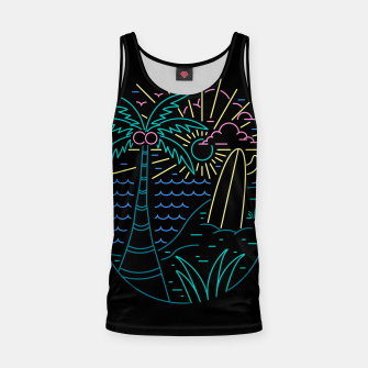 Thumbnail image of Beach Neon Tank Top, Live Heroes