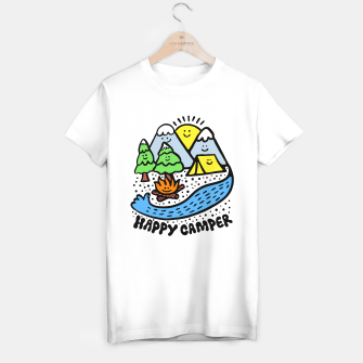 Thumbnail image of Happy Camper T-shirt regular, Live Heroes