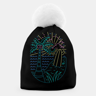 Thumbnail image of Beach Neon Beanie, Live Heroes