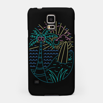 Thumbnail image of Beach Neon Samsung Case, Live Heroes