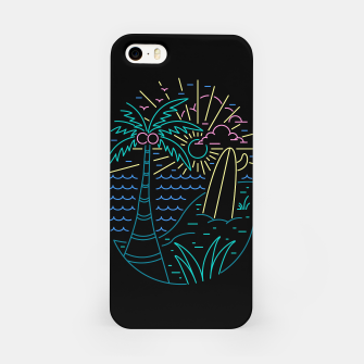 Thumbnail image of Beach Neon iPhone Case, Live Heroes