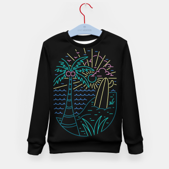 Thumbnail image of Beach Neon Kid's sweater, Live Heroes
