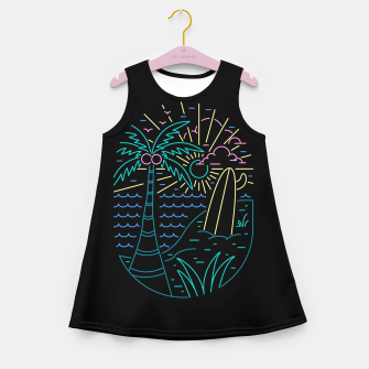 Thumbnail image of Beach Neon Girl's summer dress, Live Heroes