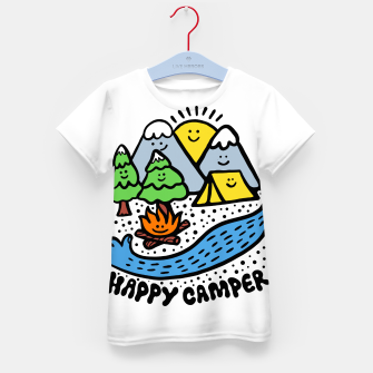 Thumbnail image of Happy Camper Kid's t-shirt, Live Heroes