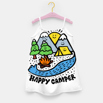 Thumbnail image of Happy Camper Girl's dress, Live Heroes