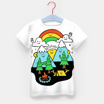 Thumbnail image of Happy Nature Kid's t-shirt, Live Heroes