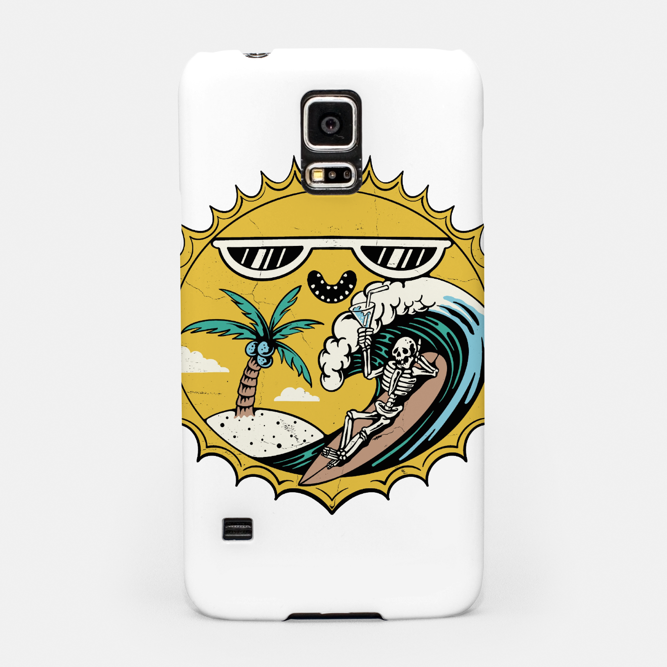 Image of Summer Relax Samsung Case - Live Heroes