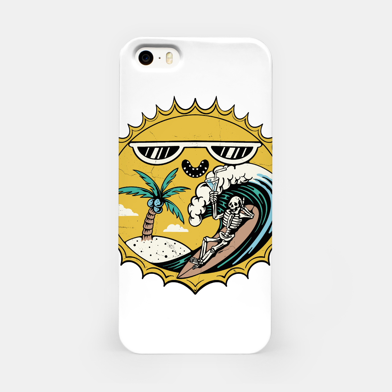Image of Summer Relax iPhone Case - Live Heroes