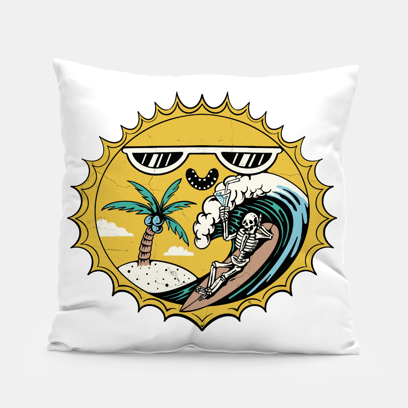 Image of Summer Relax Pillow - Live Heroes