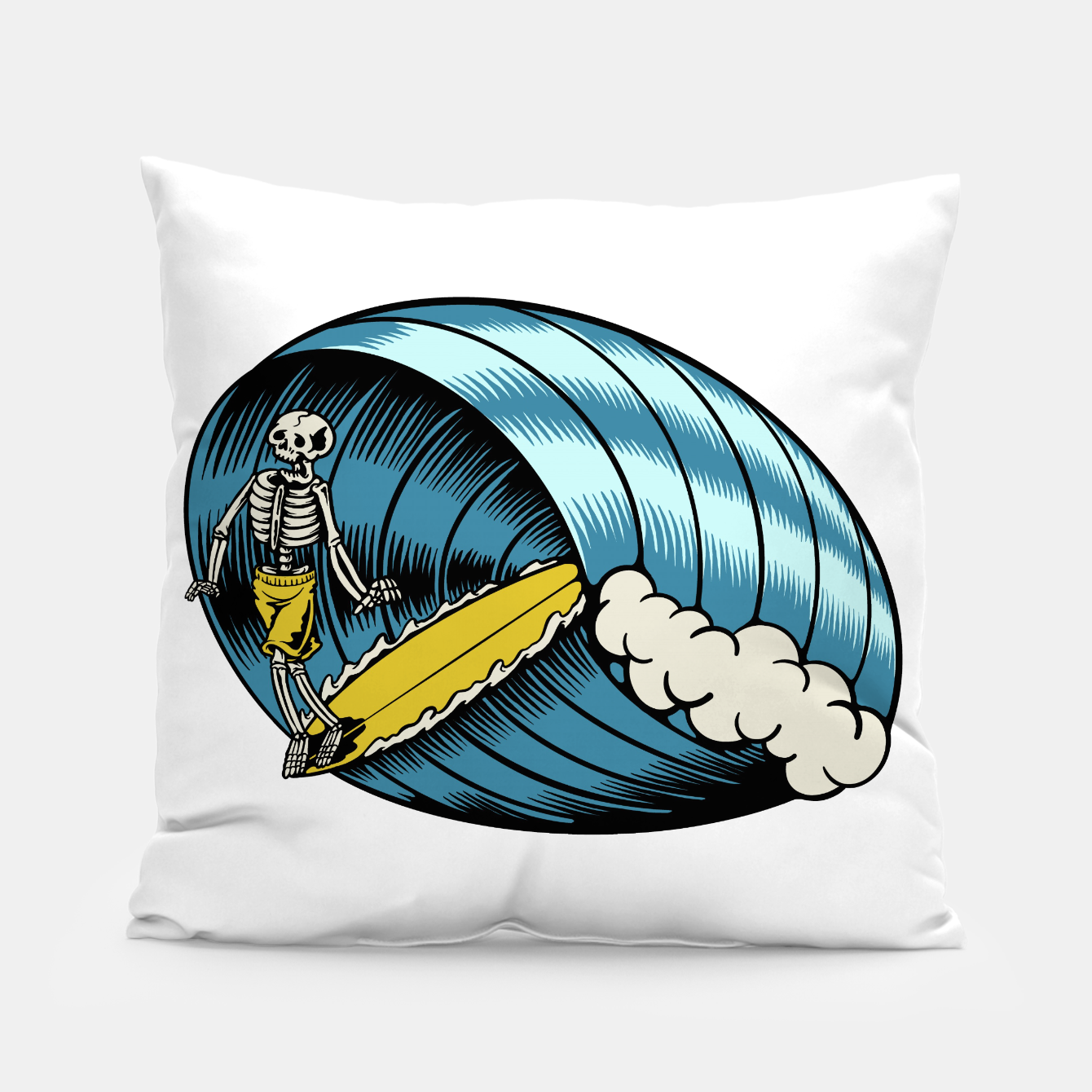 Image of Surf Nose Pillow - Live Heroes