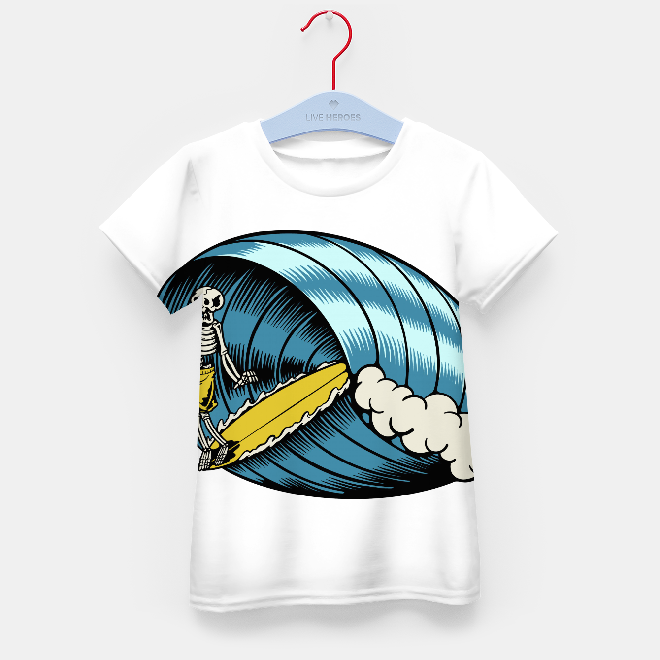 Image of Surf Nose Kid's t-shirt - Live Heroes