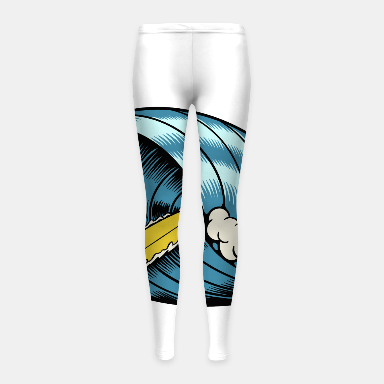 Image of Surf Nose Girl's leggings - Live Heroes