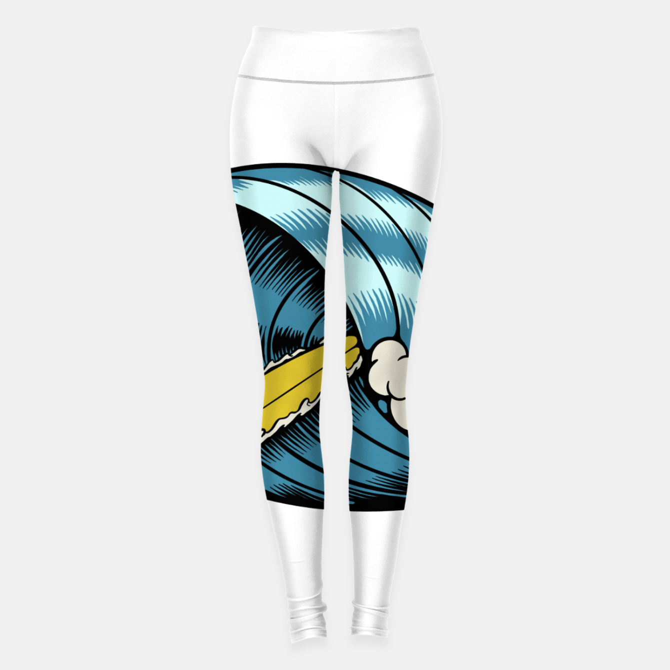 Image of Surf Nose Leggings - Live Heroes