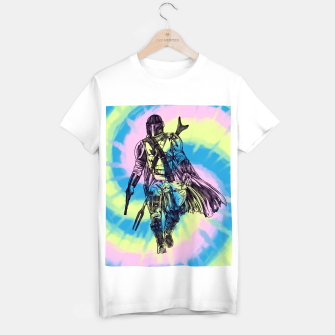 Thumbnail image of MANDA TIE DYE T-shirt regular, Live Heroes