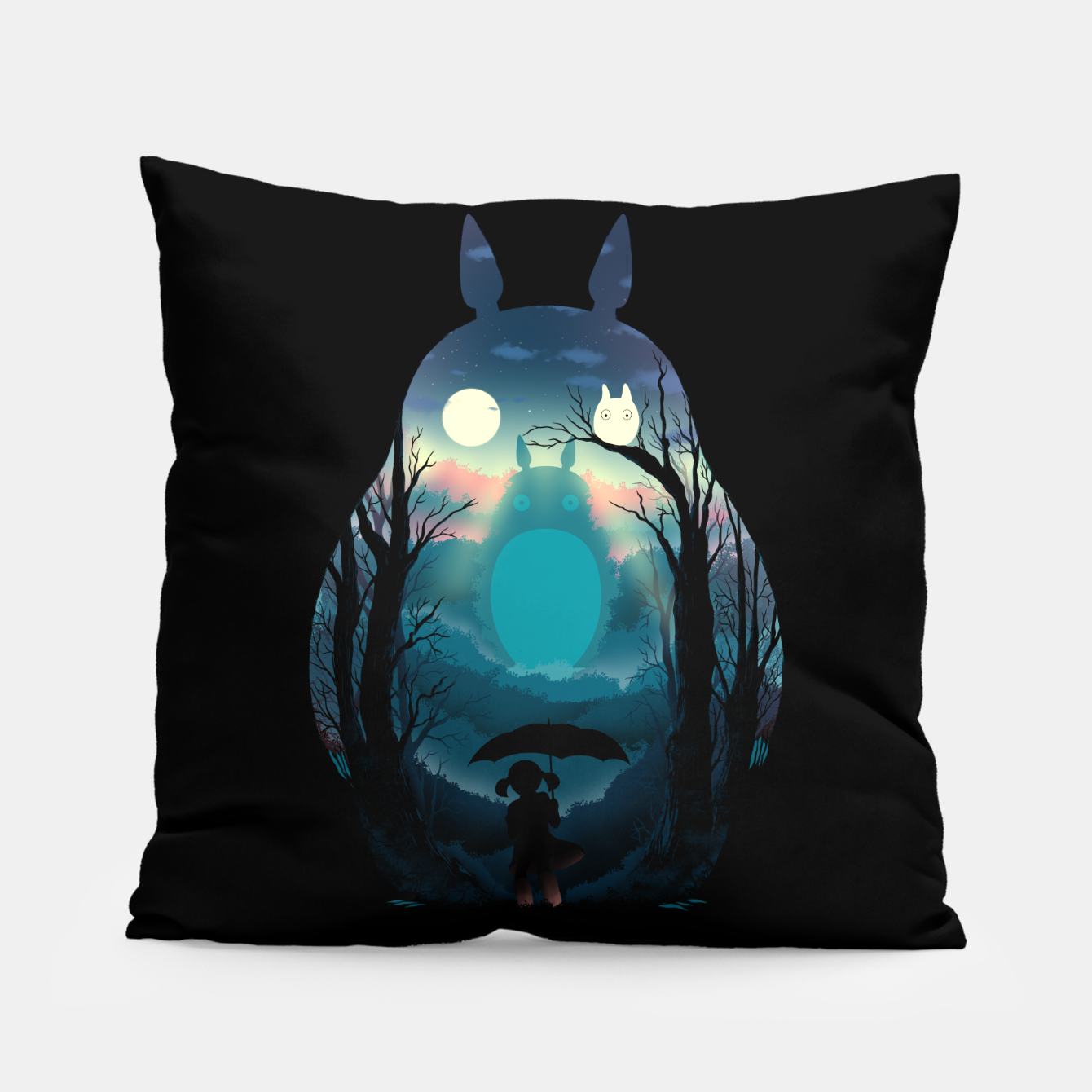 Image of LOOKING FOR A FRIEND Pillow - Live Heroes