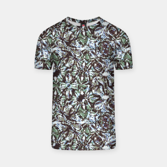 Thumbnail image of Textured Ornate Design Pattern T-shirt, Live Heroes
