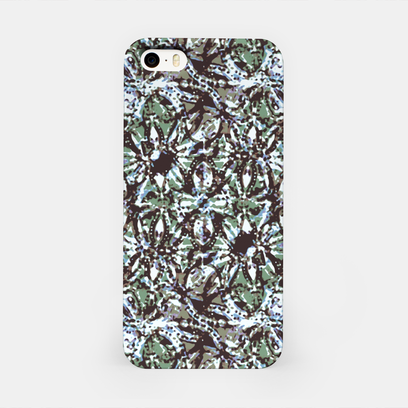 Image of Textured Ornate Design Pattern iPhone Case - Live Heroes