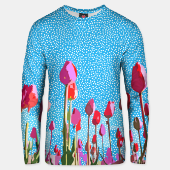 Thumbnail image of Tiptoe Through The Tulips With Me Unisex sweater, Live Heroes