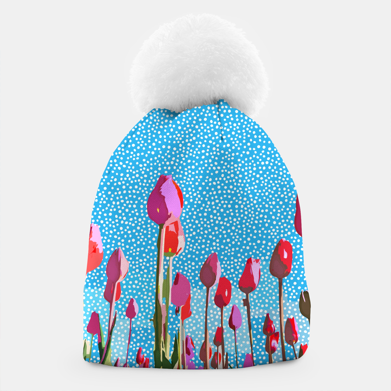 Image of Tiptoe Through The Tulips With Me Beanie - Live Heroes