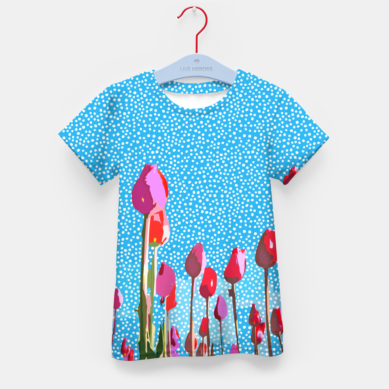 Image of Tiptoe Through The Tulips With Me Kid's t-shirt - Live Heroes