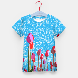 Thumbnail image of Tiptoe Through The Tulips With Me Kid's t-shirt, Live Heroes