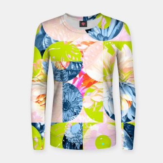 Cupid and Psyche Graphic Floral  Women sweater thumbnail image