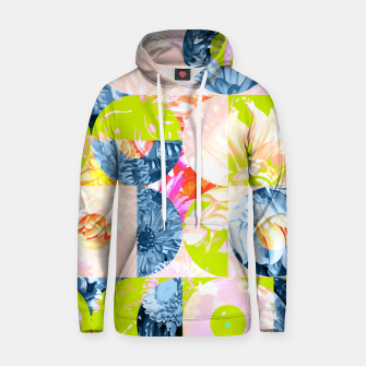 Cupid and Psyche Graphic Floral  Hoodie thumbnail image