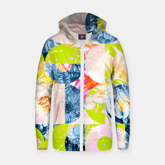 Thumbnail image of Cupid and Psyche Graphic Floral  Zip up hoodie, Live Heroes