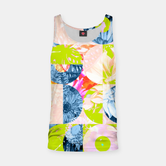 Cupid and Psyche Graphic Floral  Tank Top thumbnail image