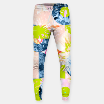 Cupid and Psyche Graphic Floral  Sweatpants thumbnail image