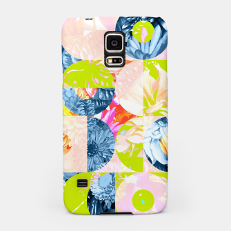 Cupid and Psyche Graphic Floral  Samsung Case thumbnail image