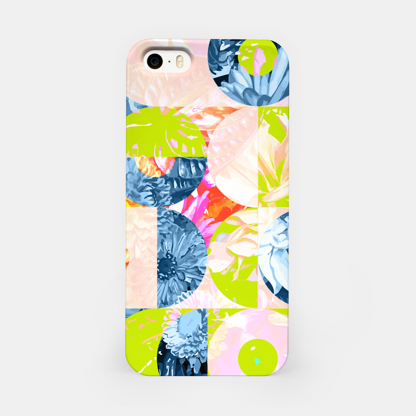 Image of Cupid and Psyche Graphic Floral  iPhone Case - Live Heroes