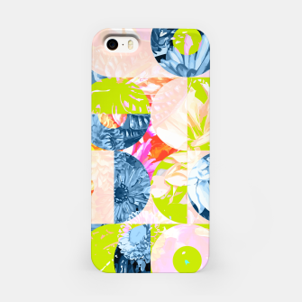 Cupid and Psyche Graphic Floral  iPhone Case thumbnail image