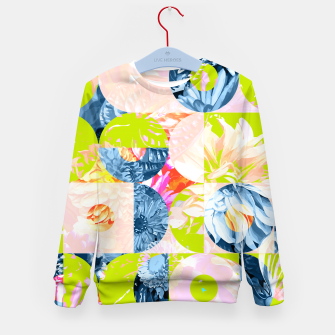Cupid and Psyche Graphic Floral  Kid's sweater thumbnail image