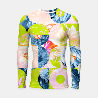 Cupid and Psyche Graphic Floral  Longsleeve rashguard  thumbnail image