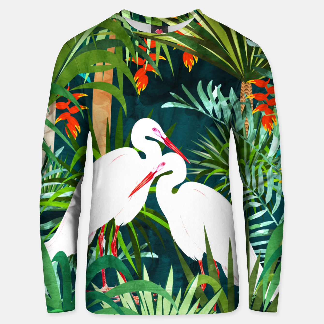 Image of To Me, You're The Perfect Heron Unisex sweater - Live Heroes