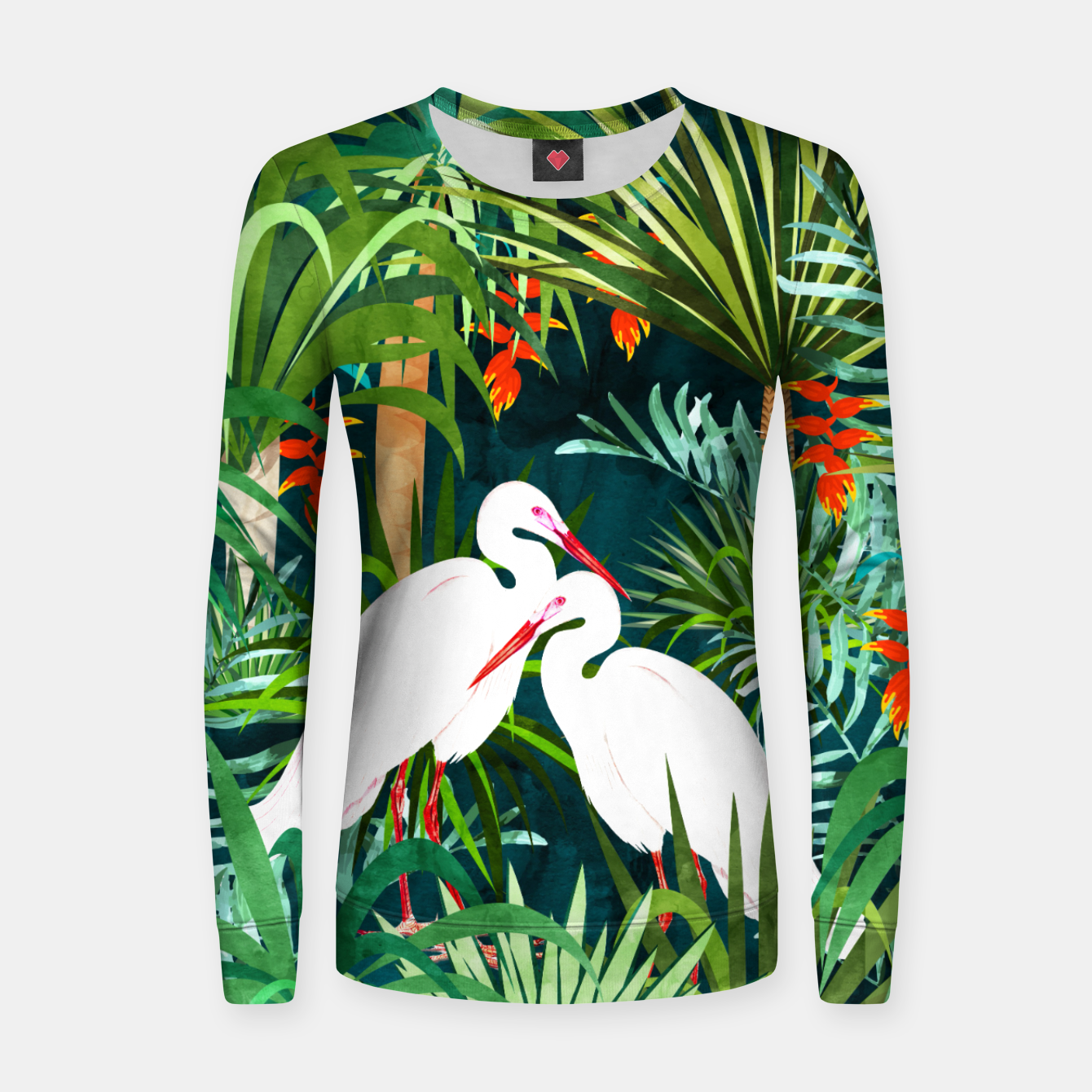 Image of To Me, You're The Perfect Heron Women sweater - Live Heroes