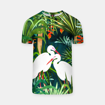 Thumbnail image of To Me, You're The Perfect Heron T-shirt, Live Heroes