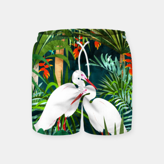 Thumbnail image of To Me, You're The Perfect Heron Swim Shorts, Live Heroes