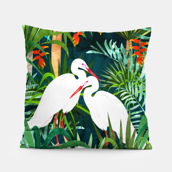 Thumbnail image of To Me, You're The Perfect Heron Pillow, Live Heroes
