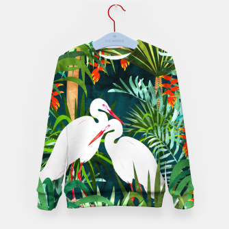 Thumbnail image of To Me, You're The Perfect Heron Kid's sweater, Live Heroes