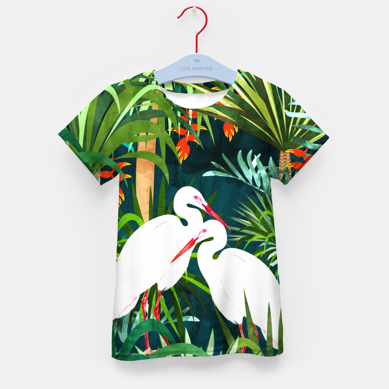 Image of To Me, You're The Perfect Heron Kid's t-shirt - Live Heroes